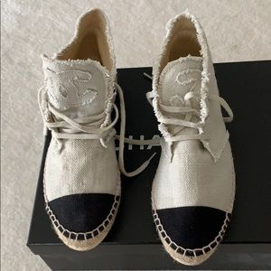 Chanel Espadrille sneakers size 38